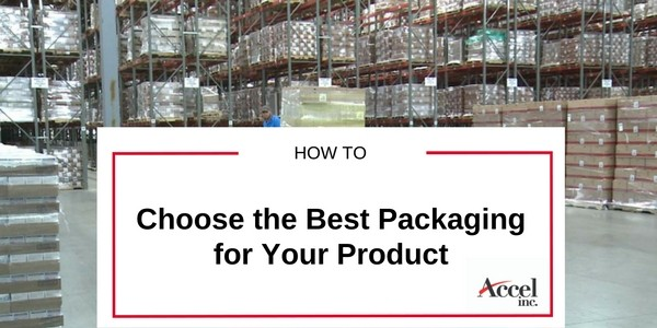 How to choose the best packaging for your product