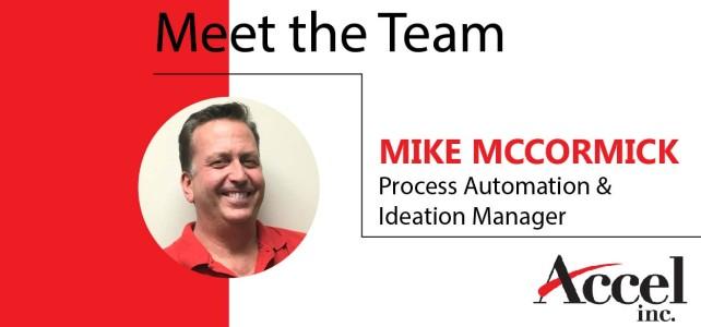 Meet the Team: Mike McCormick