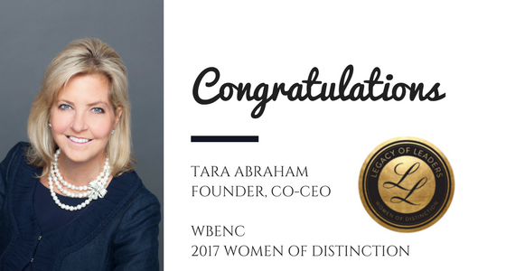 Tara Abraham Recognized as WBENC Women of Distinction