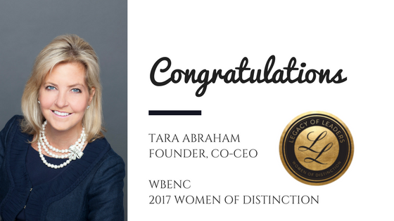 Congrats to Tara for being honored as a WBENC Women of Distinction